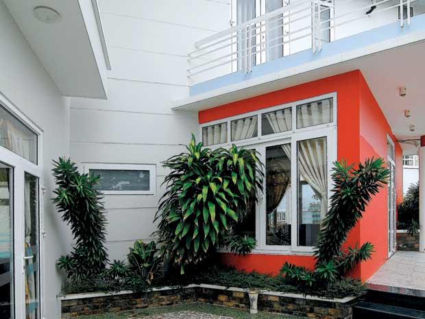Giảm góc – bo cạnh cho nhà có nhiều góc cạnh