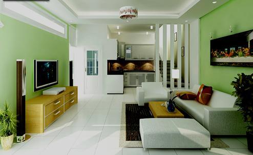 Tư vấn dùng tông xanh trong trang trí nhà cho người mệnh Kim